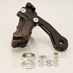 GMA-402STMSB SMOOTH BLACK REAR KIT 2000-2006 SOFTAIL