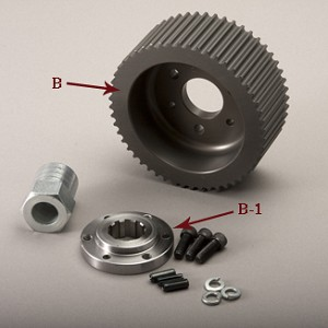 EV-52B FRONT PULLEY FOR EVO-11S-2