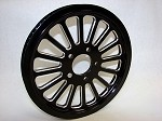 RP-XVIB-661 SPOKE BLACK CUSTOM REAR PULLEY