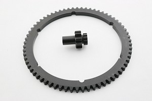 SG-2PG 66 TOOTH STARTER RING GEAR WITH PG-300 STARTER PINION GEAR